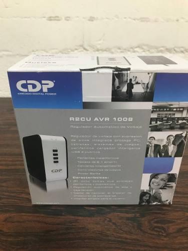 Regulador Cdp va/400w, 8 Salidas, 4 Usb R2cu-avr