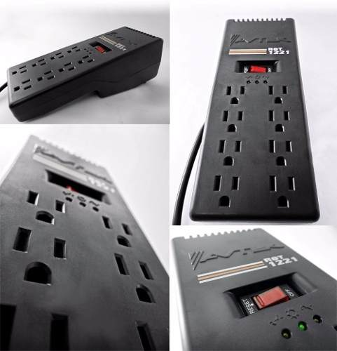 Regulador De Voltaje 8 Tomas Avtek 600 Watts