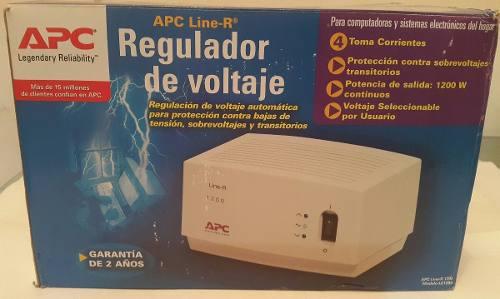Regulador De Voltaje Apc Line-r