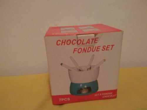 Set Fondue Chocolate 7 Pzs Nuevo