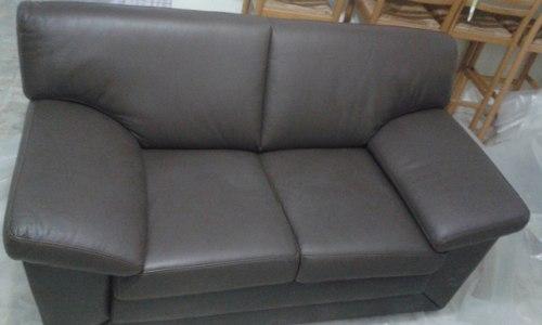 Sofa De 2 Puestos En Piel Nuevo (decomobilia)