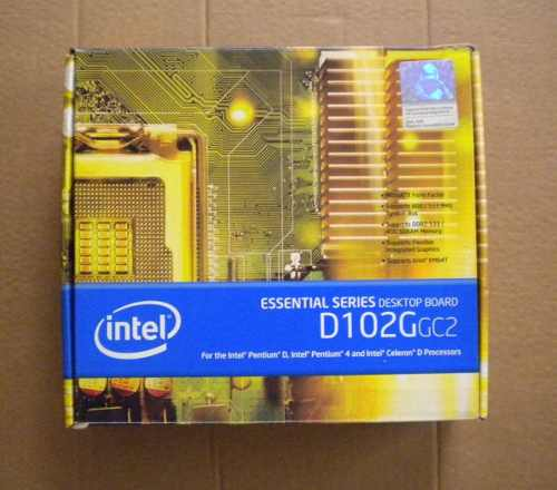 Tarjeta Madre Intel D102ggc2 Para Reparar