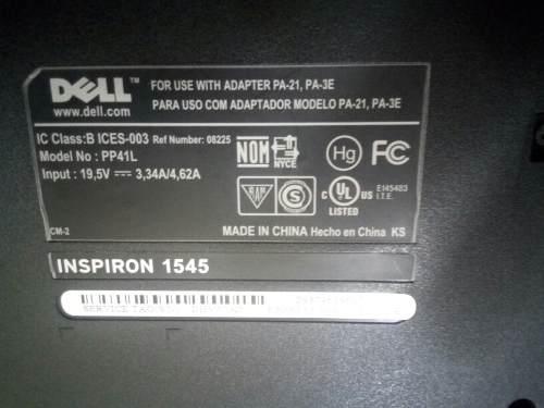 Tarjeta Madre + Procesador Para Laptop Dell