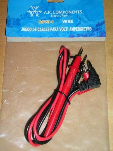 Cable O Puntas De Medir Para Tester Multimetro