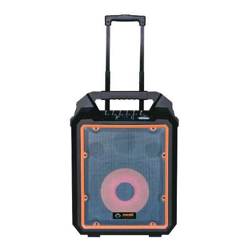 Corneta Portatil Moonki 1200w Usb Microfono/control Bagc