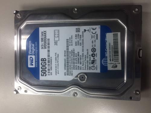 Disco Duro 500 Gb Western Digital Azul / Hitachi / Poco Uso