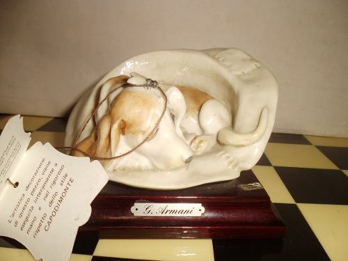 Figura De Porcelana Marca Capodimonte Realizada Por G Armani