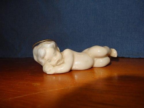 Figura En Porcelana Lladró Niño Jesus