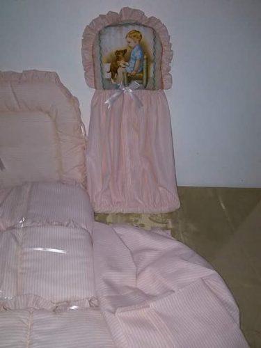 Juego De Edredon, Sabana Y Protectores De Cuna Para Bebe Ofe