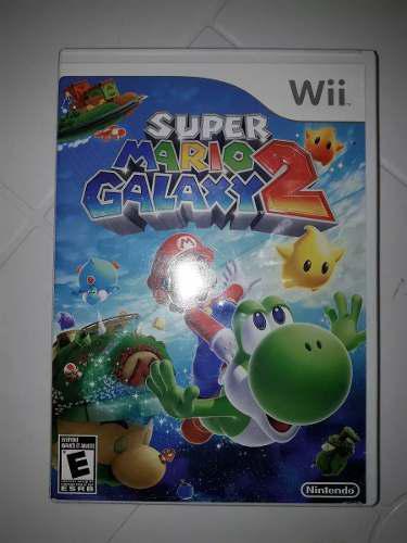 Juego De Super Mario Galaxy 2 Original Para Nintendo Wii