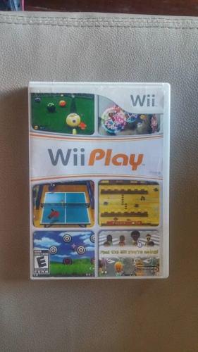 Juego De Wii Original Wii Play Usado