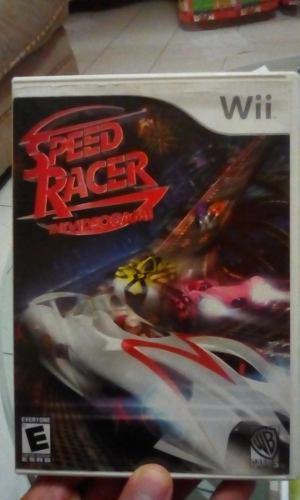 Juego Speed Racer (meteoro) Para Nintendo Wii (original)