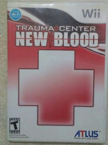 Juego Trauma Center New Blood Para Wii