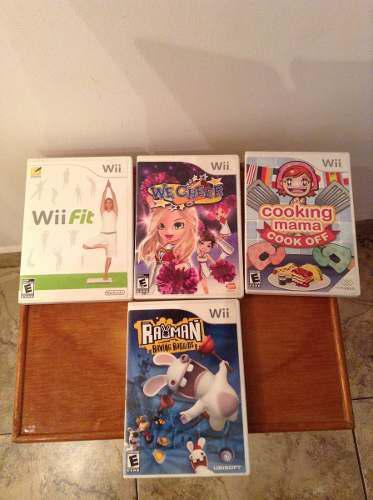 Juegos Originales Para Consola Nintendo Wii Como Nuevos!
