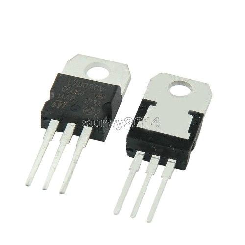 L Lm Transistor/ Regulador De Voltaje + 5v 1.5a