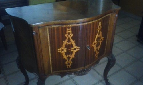 Mueble Antiguo Todo En Madera