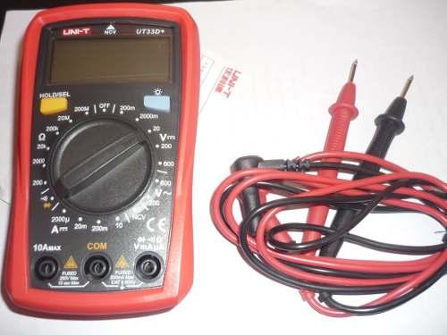 Multimetro Digital Uni-t Ut33d+.