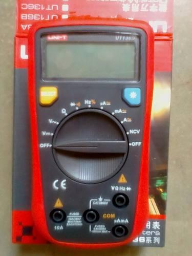 Multimetro Digital Ut 136d