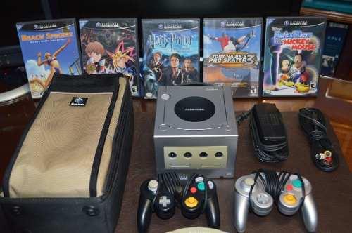Nintendo Gamecube Con Accesorios Y Juegos