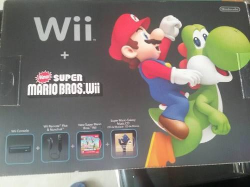 Nintendo Wii + Juego De Mario