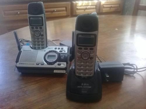 Par De Teléfonos Inalámbricos Panasonic
