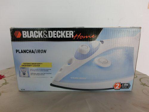 Plancha Black&decker Home. Modelo W200