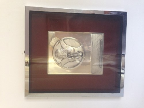 Reproduccion En Plata Certificada De Obra De Salvador Dali