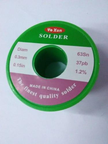 Rollo De Estaño 12mts Para Soldar Yaxun 0,3mm
