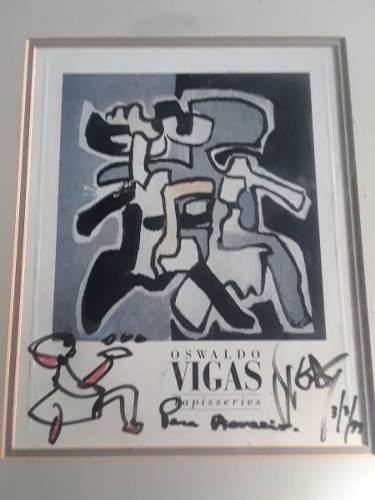 Serigrafia Oswaldo Vigas.