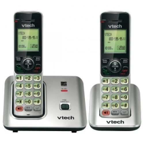 Telefono Vtech Inalambrico Con Auxiliar Cs 6619