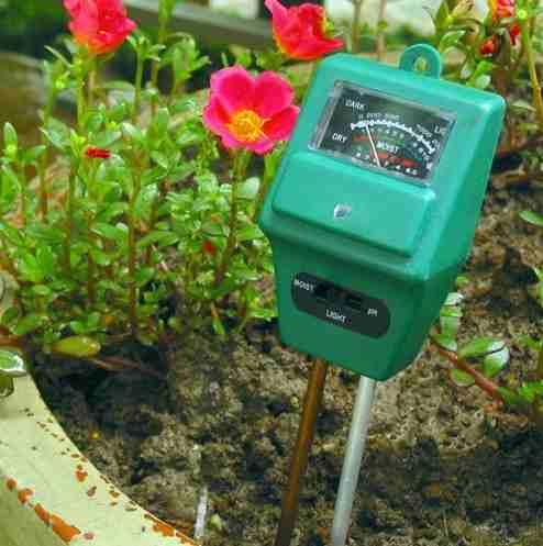 Tester Medidor Humedad Ph Suelo Plantas 3 En 1
