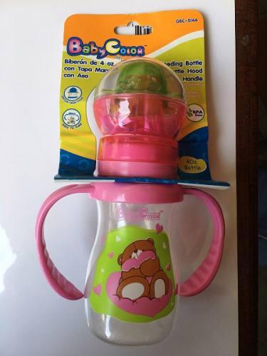 Tetero Biberón Baby Color Para Bebe De 4 Oz.