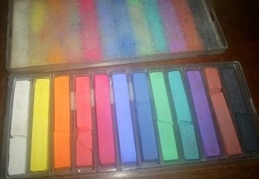 Tiza Pastel Jmpaillard Paris 12 Colores / Profesional