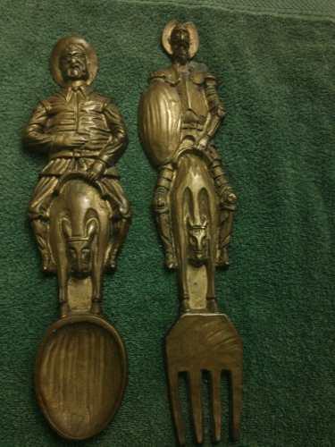 Vendo.. Figuras De Bronce De Don Quijote Y Sancho Panza