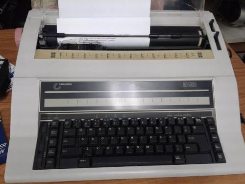 Vendo Máquina De Escribir Eléctrica Nakajima Ae-560