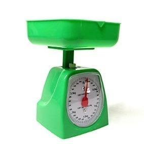 Balanza Peso De Cocina Analogixo 5 Kilos Con Bandeja