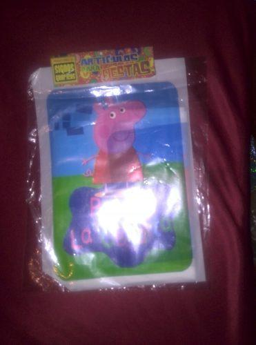 Bolsas Plásticas Piñata Cotillones Pepa Ping Spaiderman