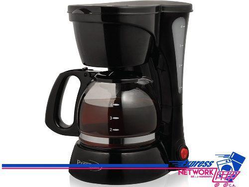 Cafetera 4 Tazas Premium Negra Pcm5419
