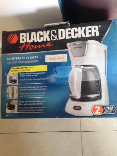 Cafetera De 12 Tazas Black And Decker Nueva