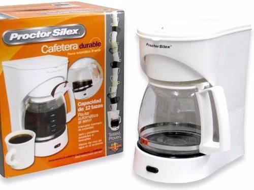 Cafetera Eléctrica De 12 Tazas Marca: Proctor Silex
