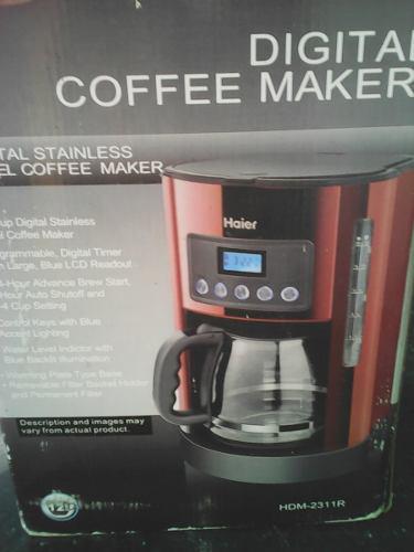 Cafetera Electrica 12 Tasas
