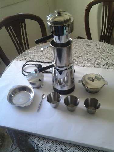 Cafetera Espresso Italy En Acero Inoxidable