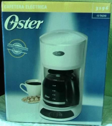 Cafetera Oster 12 Tazas Modelo 3196