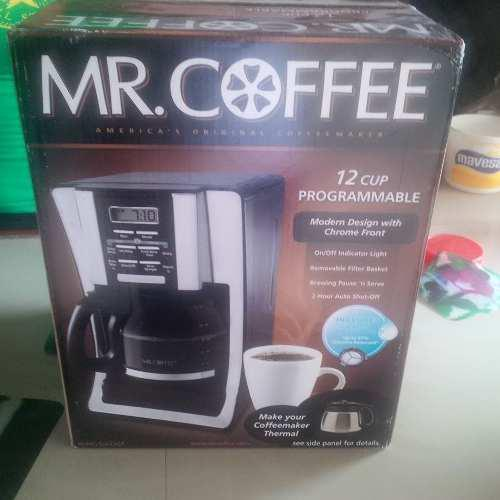 Cafetera Programable 12 Tazas Marca Mr.coffe