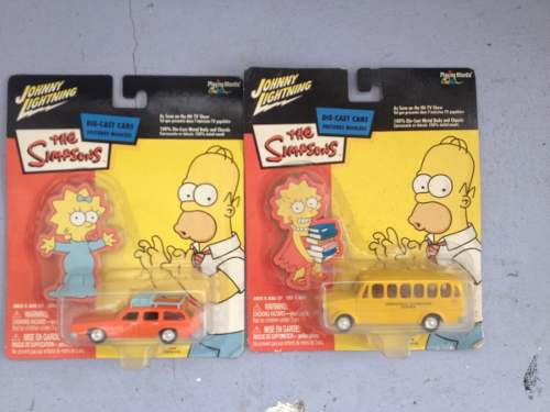 Carros De Metal De Los Simpsons Colección Die-cast Cars New