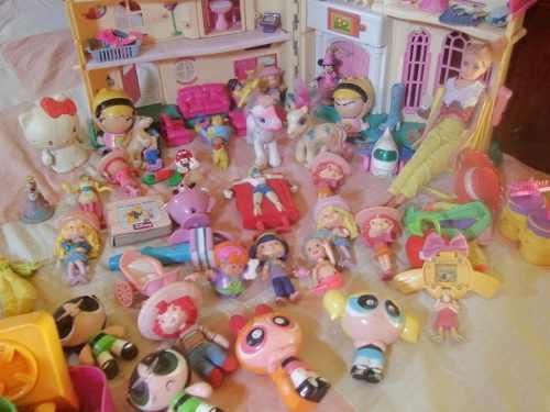 Combo Juguetes Niña, Incl. Casita Y Barbie Articulad + De