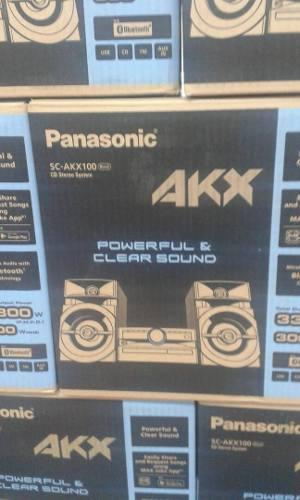 Equipo De Sonido Panasonic Scakx100