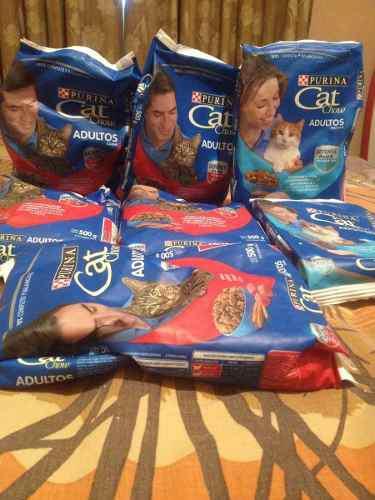 Gatarina Cat Chow Sabor A Carne Y Pescado