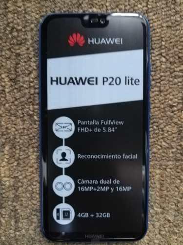 Huawei P20 Lite Dual Sim 32gb 4gb 16 Mp Octa Core 310 Trump