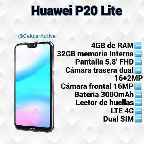 Huawei P20 Lite Nuevos Y Sellados (tienda Fisica)